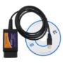 Kép 2/3 - Univerzális hibakódolvasó USB OBD2 Autódiagnosztikai készülék