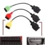 Kép 3/4 - FiatEcuScan MultiEcuScan adapter 3 db kábel Motor, ABS, Légzsák, Szervókormány