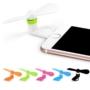 Kép 1/5 - 2 az 1-ben Mini ventilátor Android, Iphone 5S, 6S, 6S Plushoz