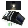 Kép 1/2 - Napelemes mozgásérzékelős kültéri lámpa króm házzal