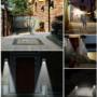 Kép 2/2 - Napelemes mozgásérzékelős kültéri lámpa króm házzal