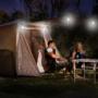 Kép 2/8 - Hordozható napelemes LED villanykörte 15w 130 LM
