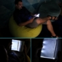 Kép 3/4 - Olvasólámpa, LED olvasólámpa, könyvlámpa
