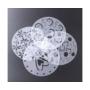 Kép 1/11 - Tortadíszítő kellék, tortadíszítő sablon (4 minta)