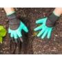Kép 2/8 - Kesztyű kertészkedéshez ásókarmokkal