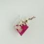 Kép 7/8 - Falra akasztható rombuszváza - asztali rombuszváza