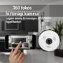 Kép 2/5 - 360 fokos látószögű megfigyelő kamera