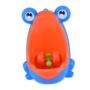 Kép 1/4 - Gyermek piszoár, baba piszoár, fali piszoár gyerekeknek Kék-narancssárga