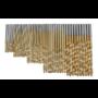 Kép 3/9 - 50 db-os Fúrószár készlet Titán-gyorsacél bevonattal