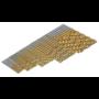 Kép 8/9 - 50 db-os Fúrószár készlet Titán-gyorsacél bevonattal