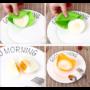 Kép 1/9 - Szilikon tojássütő/főző forma 2 db