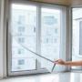 Kép 1/7 - Szúnyogháló ablakra, öntapadós szúnyogháló (150 x 200 cm)