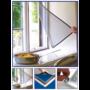 Kép 3/7 - Szúnyogháló ablakra, öntapadós szúnyogháló (150 x 200 cm)