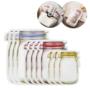 Kép 1/9 - 3 méretű, ételtároló tasak csomag (10 db)