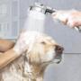 Kép 2/5 - Zuhanyfej, zuhanyrózsa 3 üzemmóddal Ezüst színű