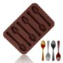 Kép 2/4 - Szilikon csokikanál forma
