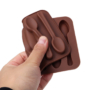 Kép 3/4 - Szilikon csokikanál forma