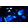 Kép 4/7 - Szivargyújtóról működő kék belső világítás autóba