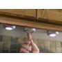 Kép 9/13 - Nyomógombos mini LED lámpa 2db