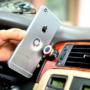 Kép 1/11 - Univerzális mágneses autós telefontartó bármilyen telefonhoz