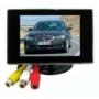 Kép 1/6 - 3.5'' TFT LCD mini monitor autóba színes tolatókamera monitor