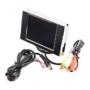 Kép 5/6 - 3.5'' TFT LCD mini monitor autóba színes tolatókamera monitor
