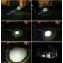 Kép 5/5 - Fémházas zoomos LED elemlámpa