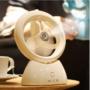 Kép 1/3 - USB-s párásító ventilátor Fehér