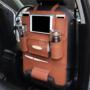 Kép 1/2 - Ülésvédő autós tároló, háttámlavédő és rendező Barna