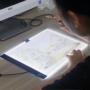 Kép 1/11 - Világító rajztábla, LED rajztábla, átrajzoló tábla