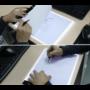 Kép 4/11 - Világító rajztábla, LED rajztábla, átrajzoló tábla