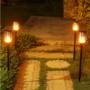 Kép 4/14 - Kültéri lámpa, fáklya állólámpa, díszvilágítás (napelemes)