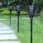 Kép 7/14 - Kültéri lámpa, fáklya állólámpa, díszvilágítás (napelemes)