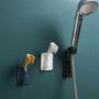 Kép 1/4 - Öntapadós zuhanyrózsa tartó (360°-ban forgatható)