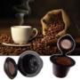 Kép 4/5 - Újratölthető 2db-os kávékapszula szett Fekete+Arany
