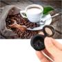 Kép 2/5 - Újratölthető 2db-os kávékapszula szett Fekete+Arany
