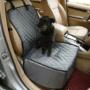 Kép 2/2 - Autós kutyaülés (víz- és portaszító anyagból) Szürke