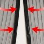 Kép 5/6 - Mágneses szúnyogháló bejárati ajtóra Fekete