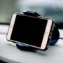 Kép 3/4 - Autós telefontartó műszerfalra Kék