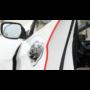 Kép 2/3 - Ajtóvédő csík, autó ajtóvédő gumi Piros