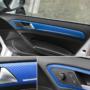 Kép 2/3 - Karbon fólia, autófólia (127 x 15 cm) Kék