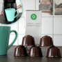 Kép 2/6 - Újratölthető kávékapszula, utántölthető kapszula 5 db