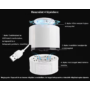 Kép 3/4 - Elektromos szúnyogirtó lámpa - Fehér