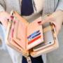 Kép 2/3 - Női pénztárca, borítéktáska Kávé barna