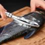 Kép 1/5 - Halpikkely pucoló ajándék szálka kiszedő csipesszel
